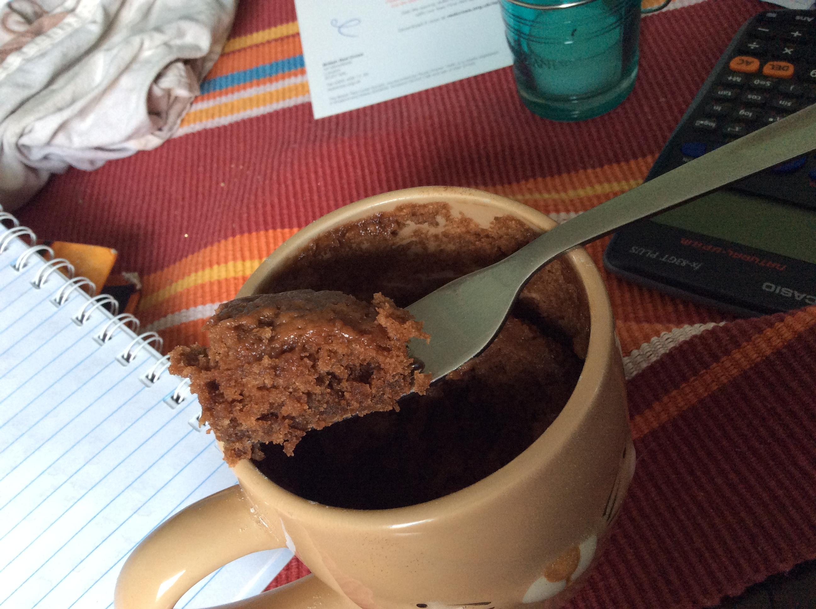 Chocolate Mug Cake - No Egg! - A chocolate mug cake tha